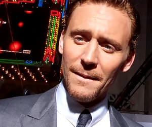 tom hiddleston, actor, and funny face image