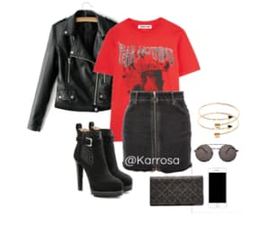 concert, fashion, and outfit image