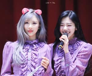 dreamcatcher, kim minji, and jiu image