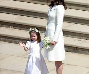 royal wedding, kate middleton, and dress image