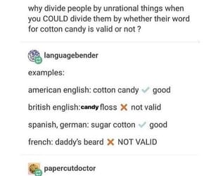 candy floss, cotton candy, and funny image