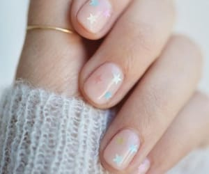 aesthetic, manicure, and stars image