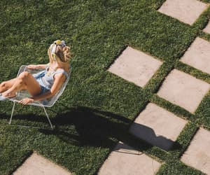 bikini, girl, and heat image