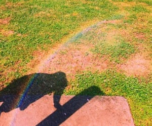 colors, park, and rainbow image