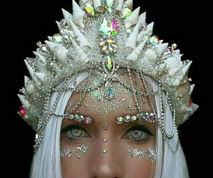 crown, white, and beauty image