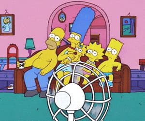 Hot, simpsons, and summer image
