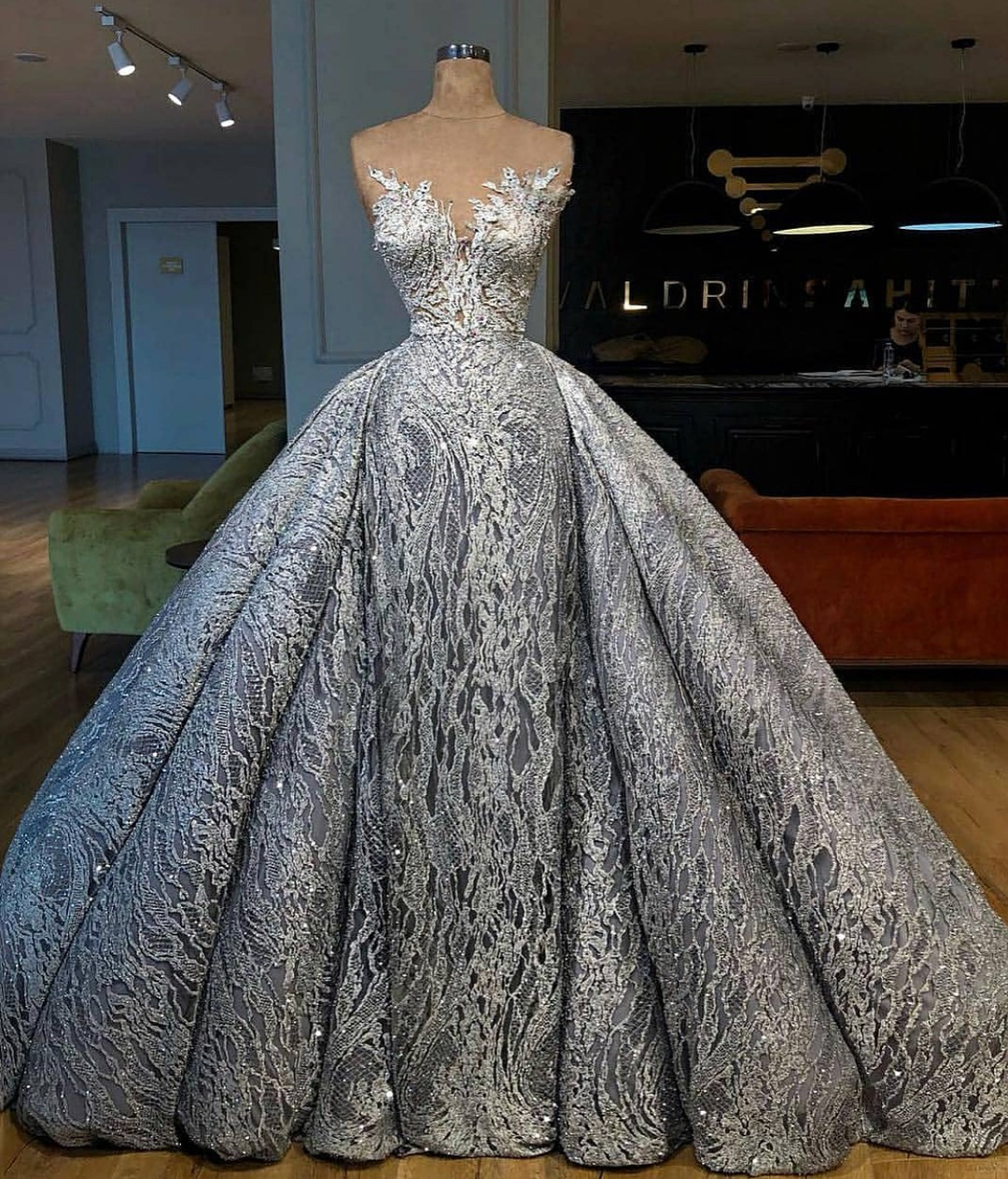 Silver Wedding Dress Discovered By Series Love