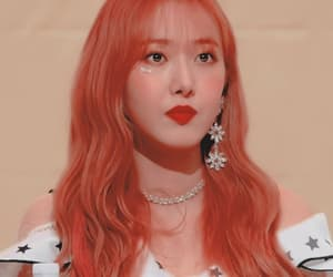 asian, fashion, and pink hair image