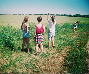 hufflepuff, girls, and friends image