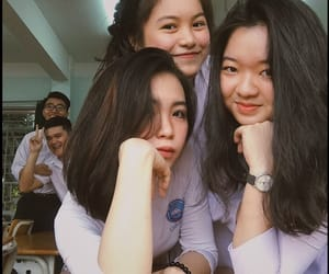 girls, school, and asean image