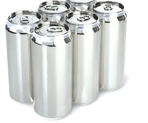 cans, soda, and steel image