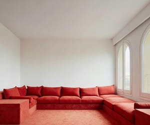 living room and red image