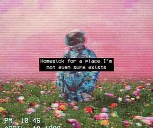 aesthetic, quotes, and flowers image