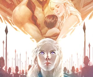 fighter, love, and daenerys image