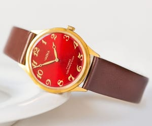 etsy, limited edition, and leather watch image