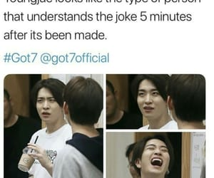 got7, meme, and youngjae image