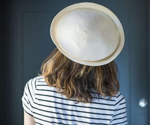 etsy, sustainable hat, and femme hat image