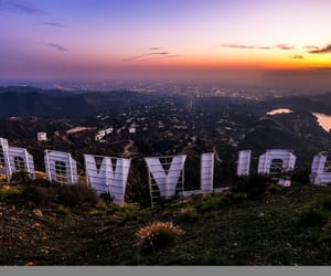 hollywood and tourist image