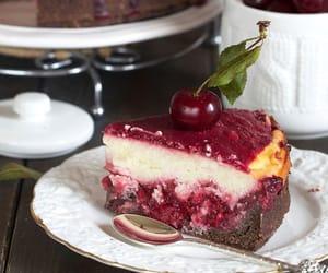 cherry, cream, and chocolate image