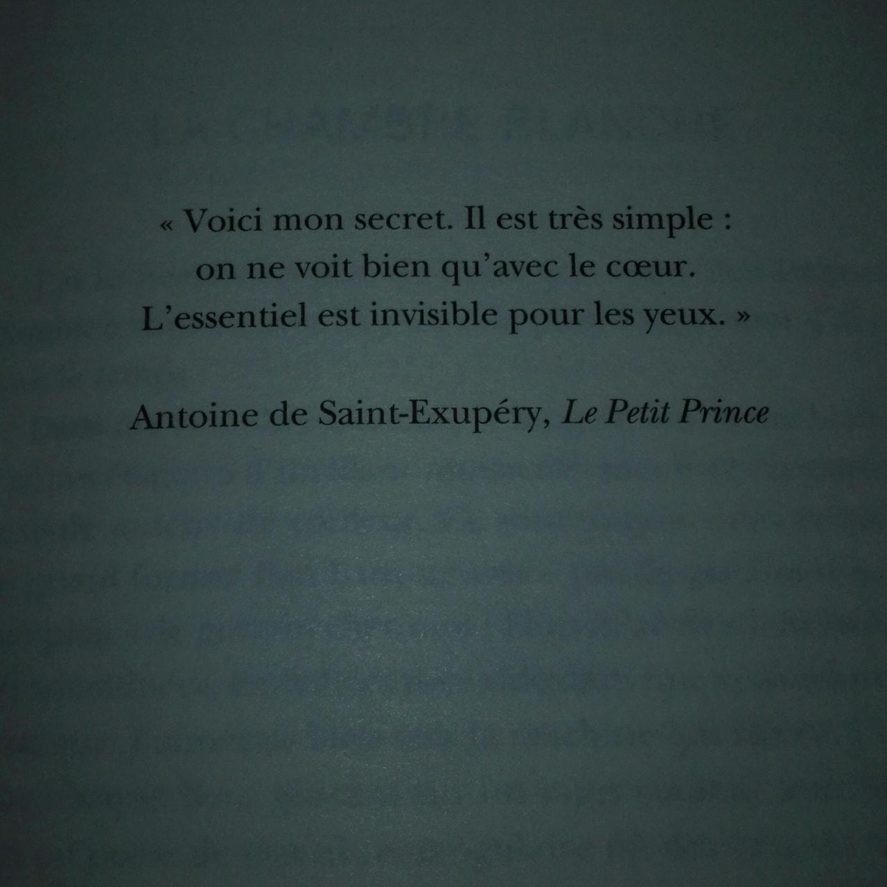 Citation Française D Antoine De Saint Exupéry