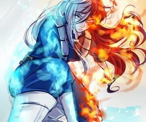 anime, girl, and boku no hero academia image
