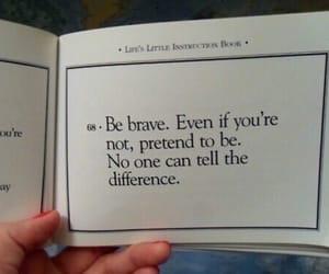 book, pretend, and brave image