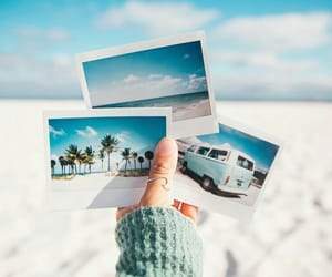 beach, photo, and photography image
