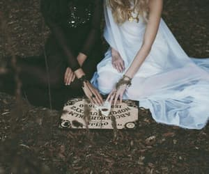 magic, ouija, and witch image