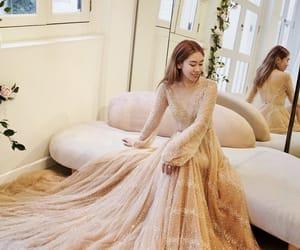 beautiful, long, and wedding image