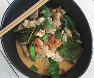 healthy, shrimp, and soup image