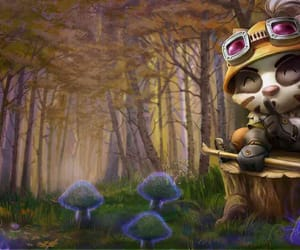 badger, teemo, and lol image