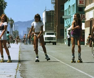 california, summer, and vintage image