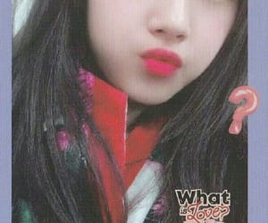twice, what is love?, and photocard image