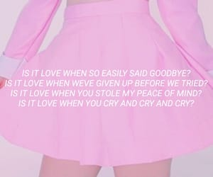 Lyrics, pinky, and song image