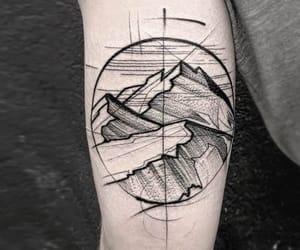 arm tattoo, forearm tattoo, and tattoo image