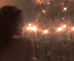 chandelier, pretty, and aesthetic image