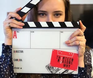 13 reasons why, katherine langford, and netflix image
