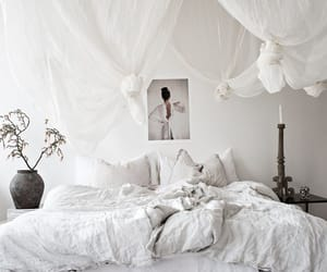 bed, decoration, and interior image