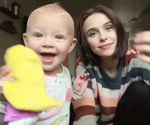 adorable, baby, and family image