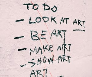 art, quotes, and aesthetic image