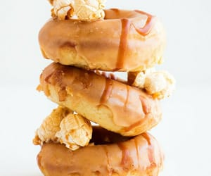 caramel, food, and food porn image