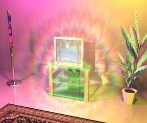 home, lsd, and lava lamp image