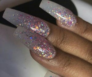 acrylics, ♡ambitious_allure♡, and fingernails image