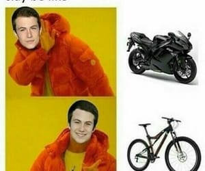 13, bicycle, and car image