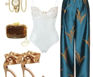 designer, fashion, and gold image