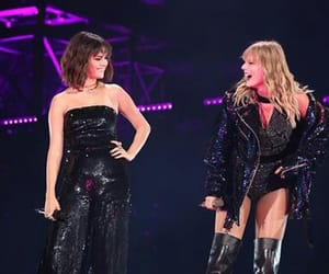 selena gomez, Taylor Swift, and Reputation image