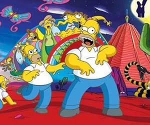 homer, trip, and drugs image