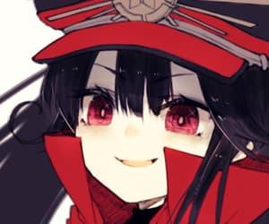 anime girl, black hair, and nobu image
