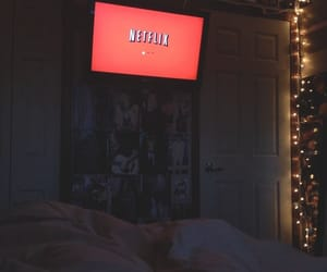 netflix, room, and light image