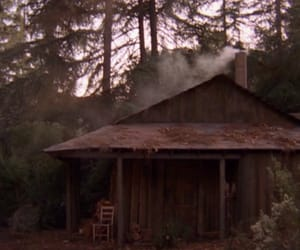 Audrey Horne, cabin, and dale cooper image